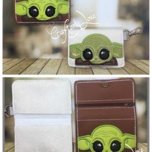 Smaller 2 pocket card wallets